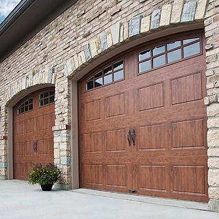 Made-to-measure garage doors throughout Stoke-on-Trent